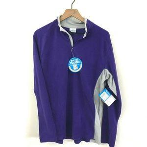 NWT! Columbia 1/4 Zip Fleece Pullover